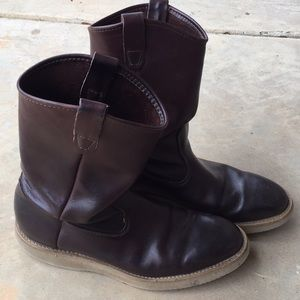 Other - Men's Brown Leather boots